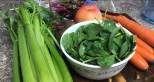 jugo verde para bajar colesterol